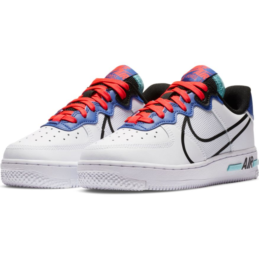 Кроссовки Nike AIR FORCE 1 REACT (GS)