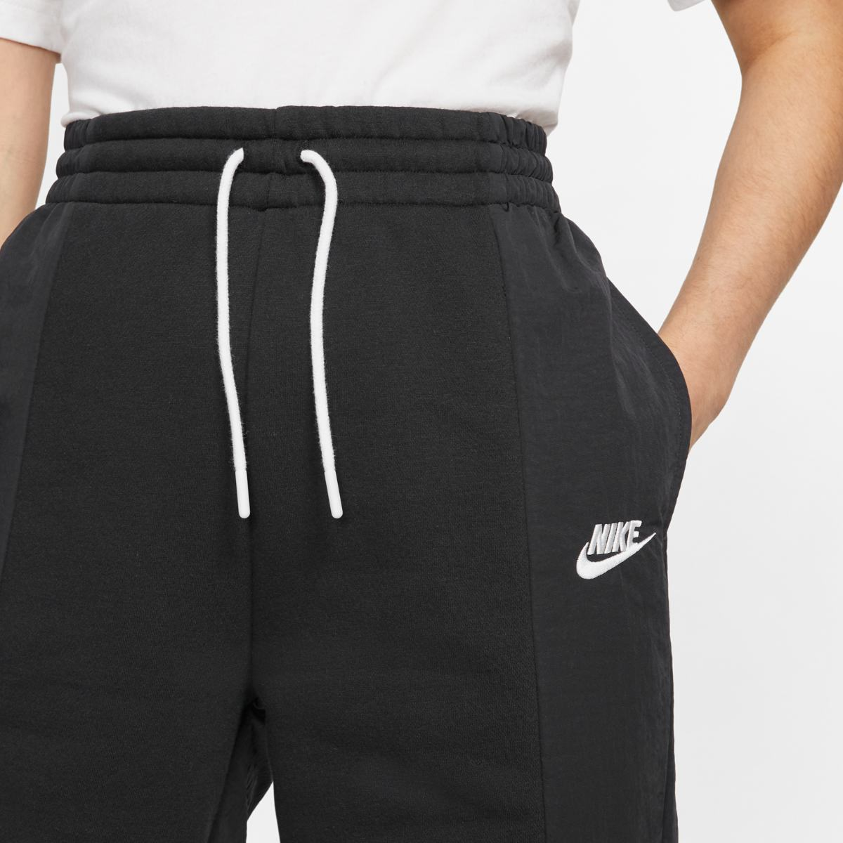 Брюки NIKE W NSW ICN CLSH PANT MIXED OS CJ2048-010 фото