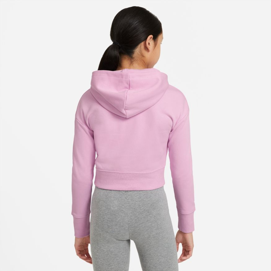 Толстовка Nike G NSW AIR CROP FT HOODIE