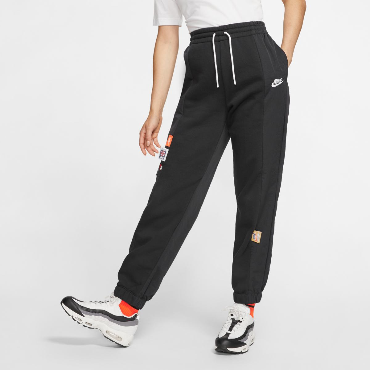 Брюки NIKE W NSW ICN CLSH PANT MIXED OS