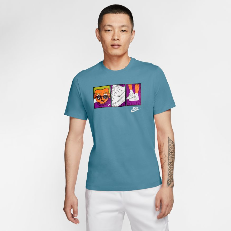 Футболка Nike M NSW TEE FTWR 1 ILLUSTRATION