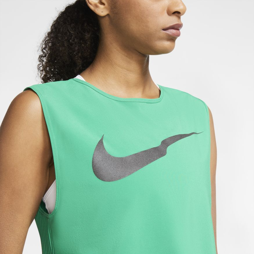 Майка Nike W NK RUN DVN TANK PLEATED CZ2835-310 фото