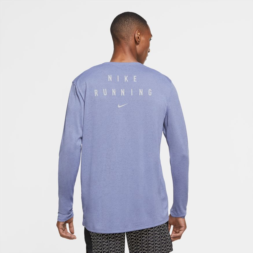 Футболка с длин. рук. Nike M NK RUN DVN MILER LS GX FLASH CU7878-482 фото