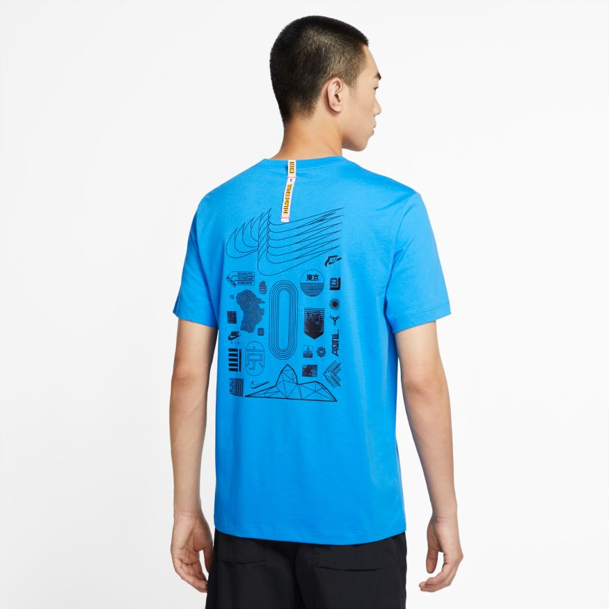Футболка Nike M NSW WORLDWIDE GLOBE SS TEE