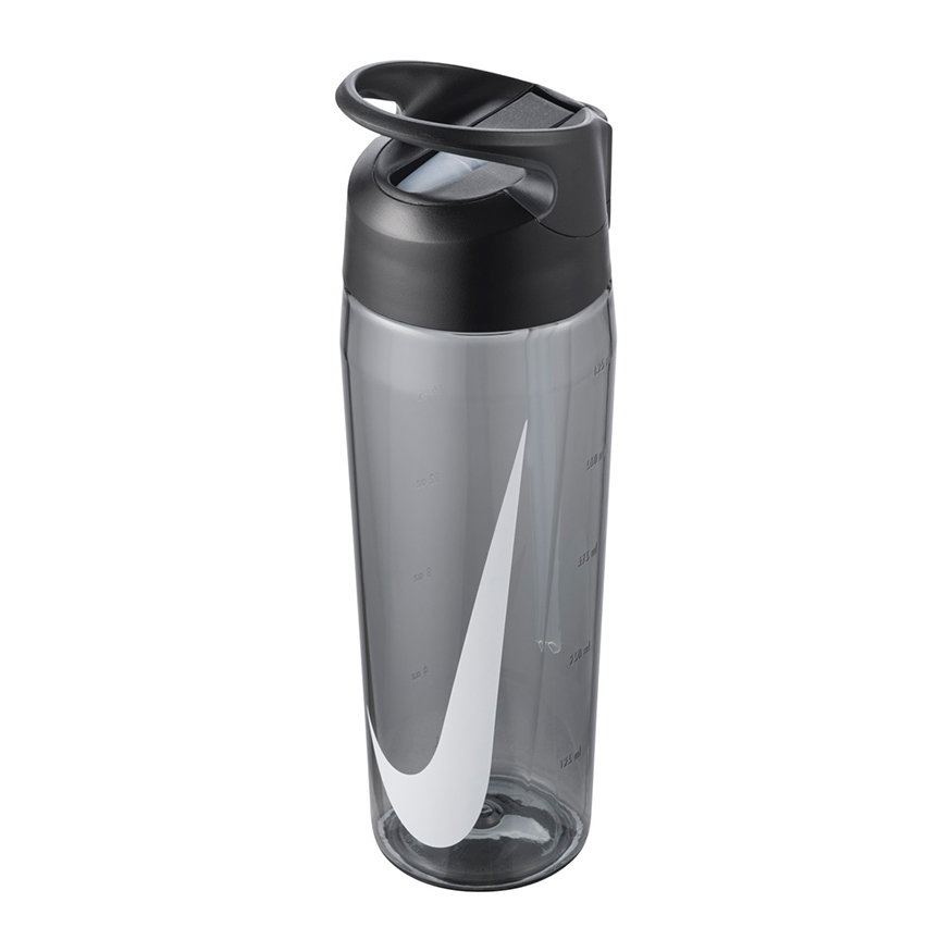 Бутылка Nike TR HYPERCHARGE STRAW BOTTLE 24 OZ ANTHRACITE/ANTHRACITE/WHITE 24OZ