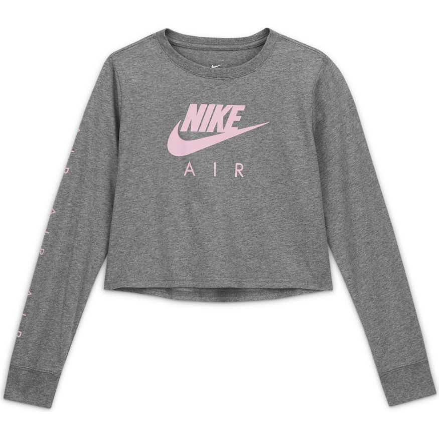 Футболка с длин. рук. Nike G NSW TEE Nike AIR LS CROP