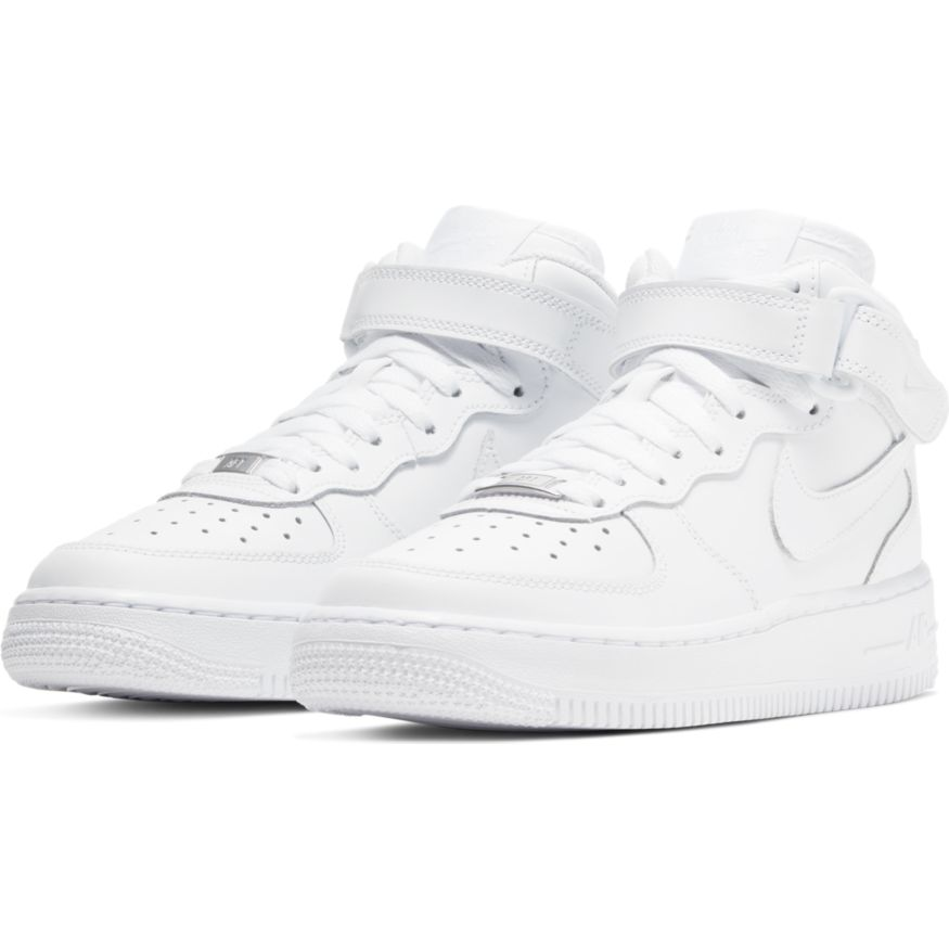 Кроссовки Nike AIR FORCE 1 MID BG 314195-113 фото