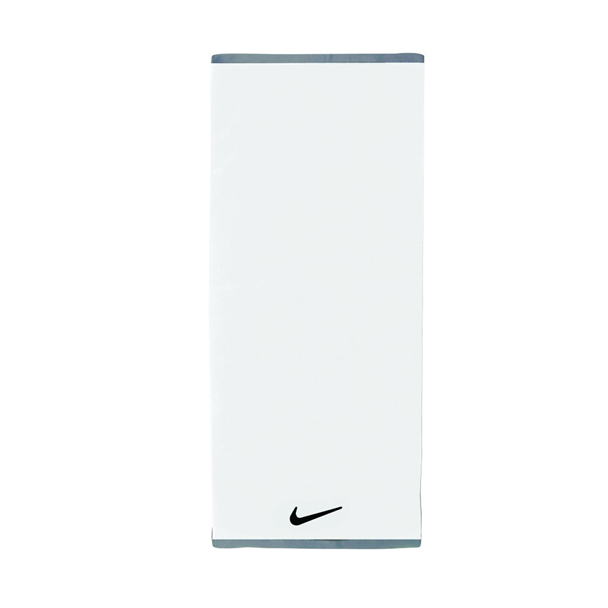 Полотенце Nike FUNDAMENTAL TOWEL LARGE WHITE/BLACK L