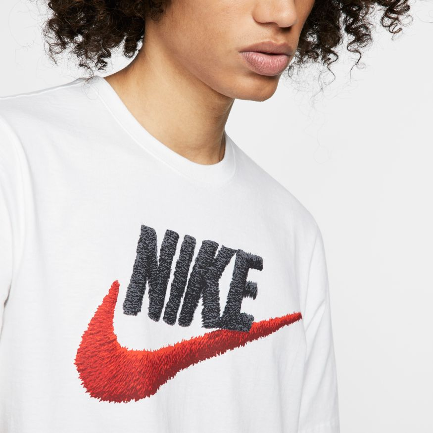 Футболка Nike M NSW TEE BRAND MARK AR4993-100 фото