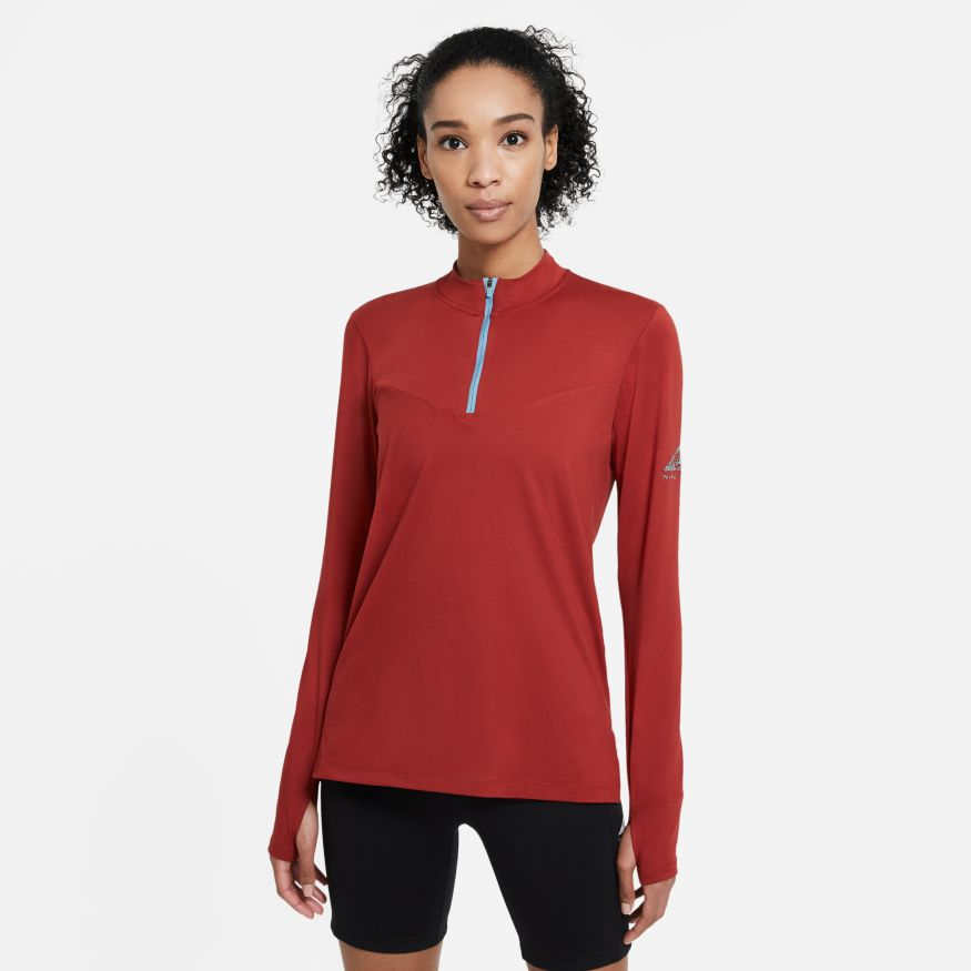 Футболка с длин.рук Nike ELEMENT TRAIL MIDLAYER