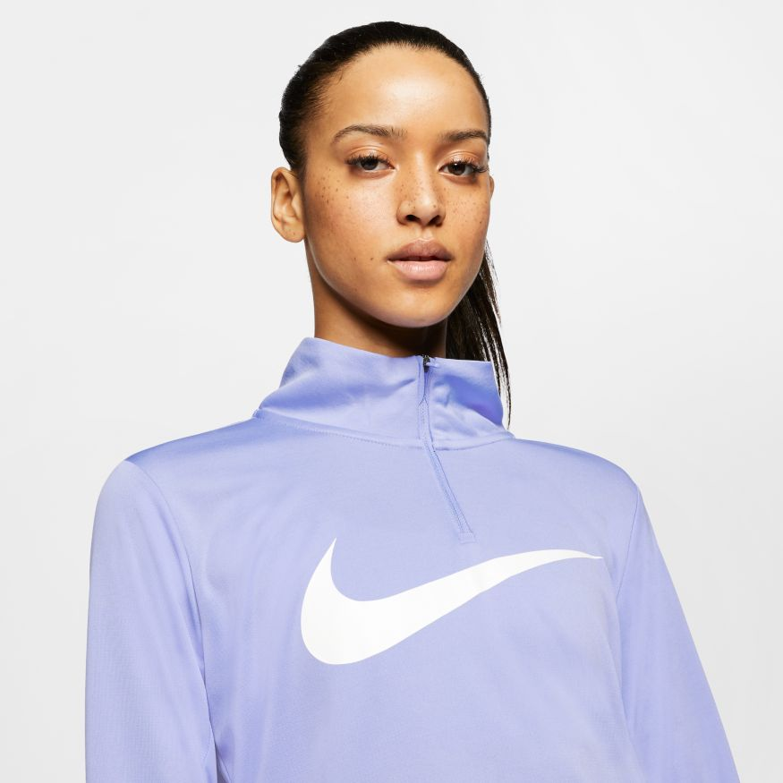 Футболка  с длин.рук. Nike W NK MIDLAYER QZ SWSH RUN CK0175-569 фото